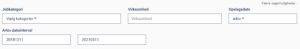 søgekriterier Jobindex arkiv